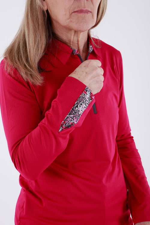Sport Haley Remy long sleeved polo - Santa Rosa