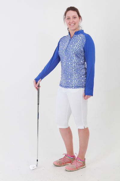 Nancy Lopez Joy 1/4 Zip - Twilight