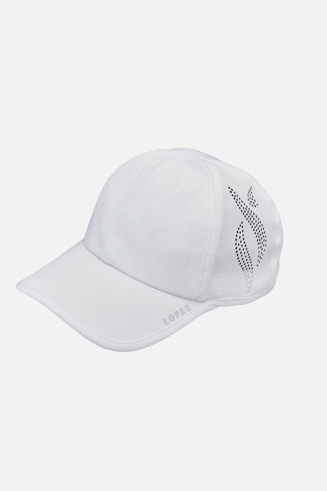 Nancy Lopez Global Hat - White