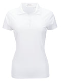 Nancy Lopez Legacy short sleeved polo - White