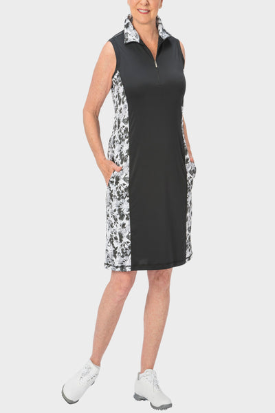 Nancy Lopez Glimmer Dress - Black Multi