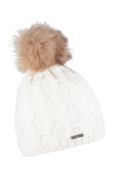 Sabbot Monika bobble hat - Ivory