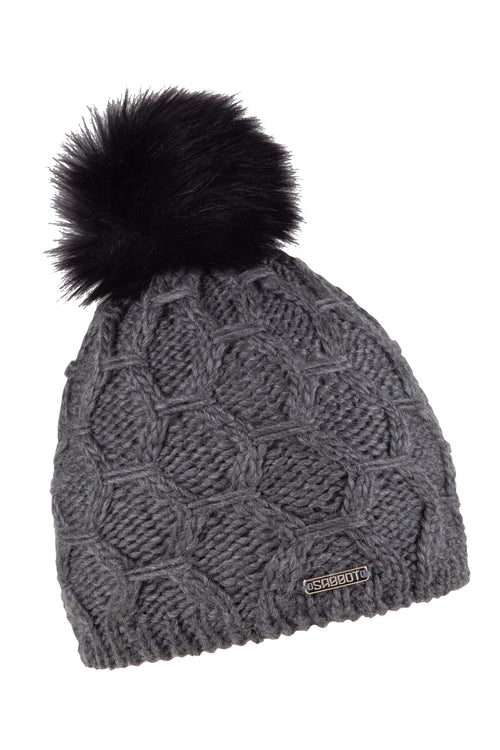 Sabbot Monika bobble hat - Dark grey