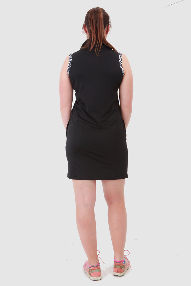 Nancy Lopez Dress - Native Black/White