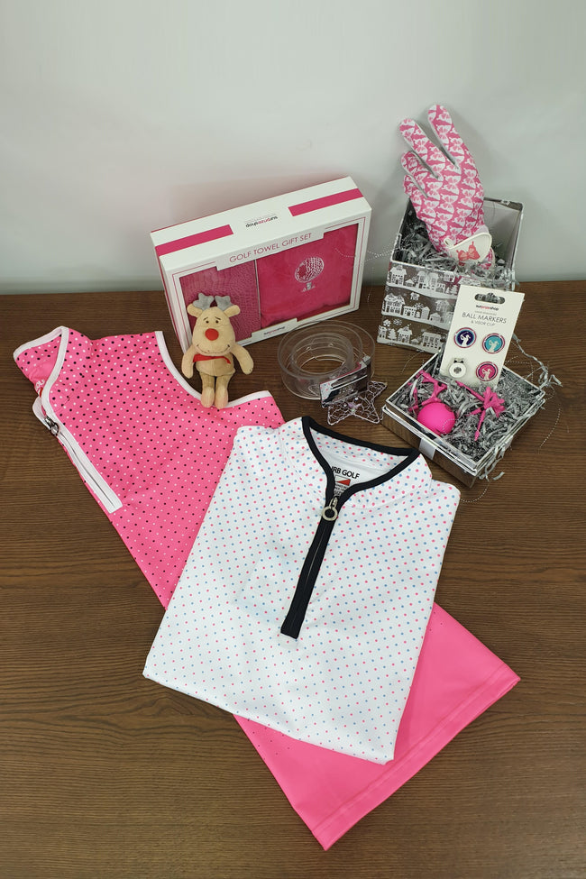 £60 Golfing Gift Set - Pinks (JRB)