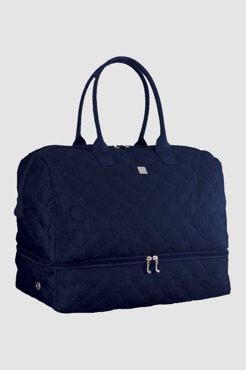 Quilted holdall - Navy