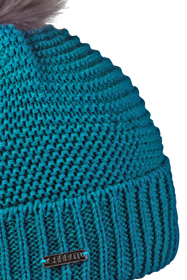 Sabbot Eva bobble hat - Teal