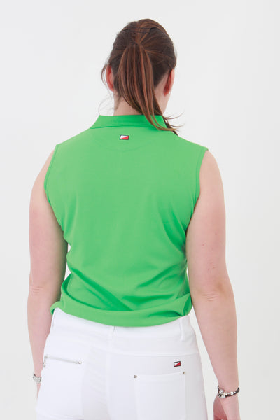 This is an essential item for every lady golfer and her golfing wardrobe.  Who doesn't need a plain green golf polo shirt?  This will also work for Lady tennis players who are looking for a plain green tennis polo shirt to match with their tennis skort or tennis shorts.  Lady Tennis players and lady golfers need this.