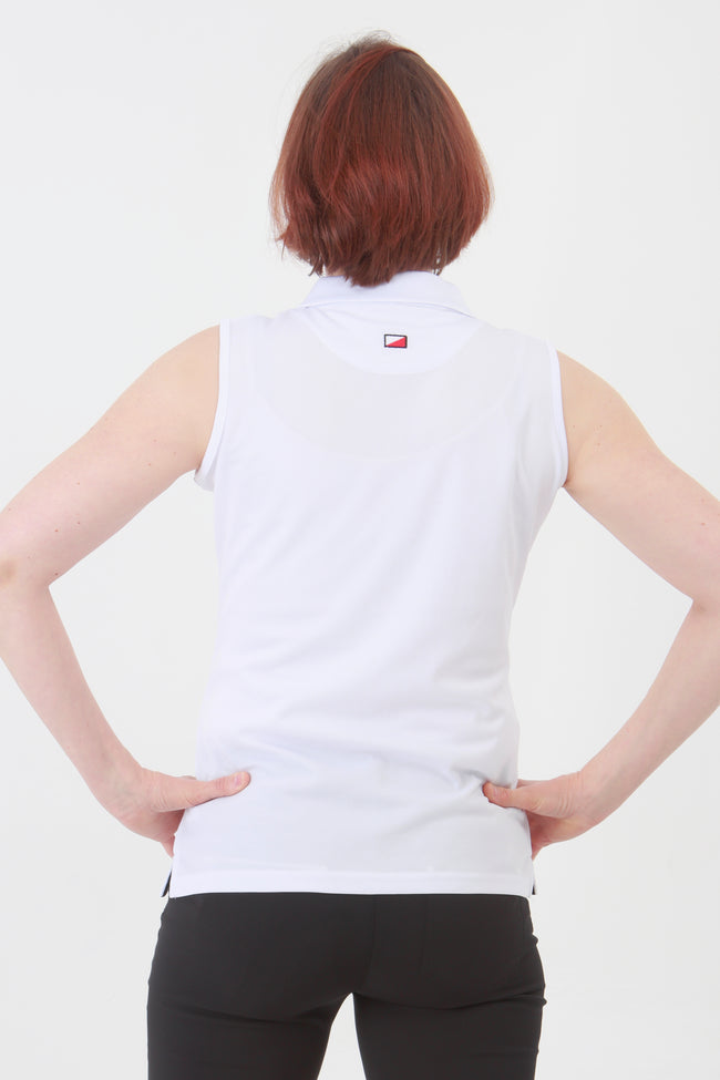 This is an essential item for every lady golfer and her golfing wardrobe.  Who doesn't need a plain white golf polo shirt?  This will also work for Lady tennis players who are looking for a plain white tennis polo shirt to match with their tennis skort or tennis shorts.  Lady Tennis players and lady golfers need this.