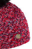 Sabbot Stela bobble hat - Red hot