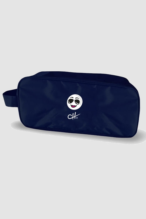 Shoe bag - Charley Hull golf ball navy