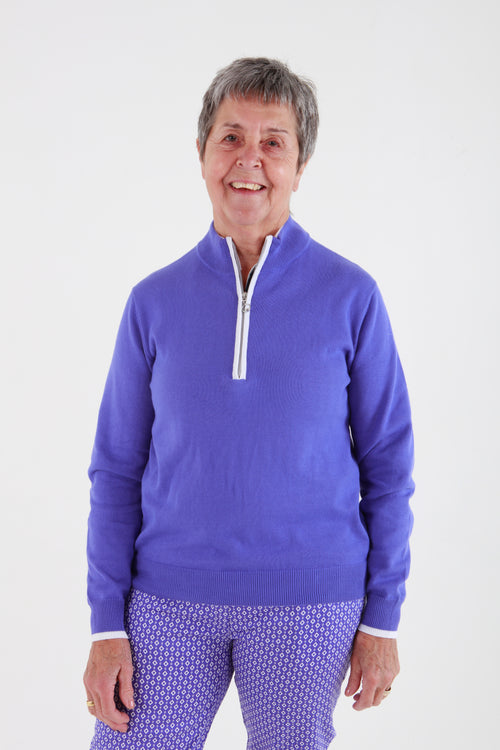JRB Sweater - Blue iris
