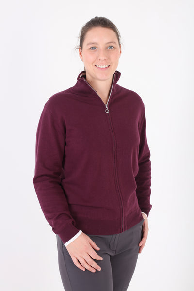 JRB Lined Sweater - Burgundy