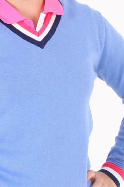 JRB Golf Sweater - Blue