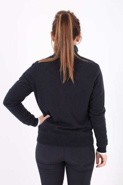 JRB Lined Sweater - Navy