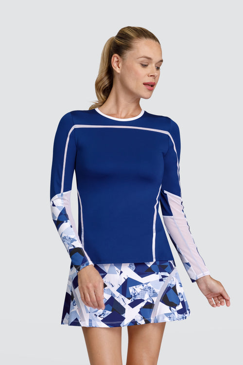 Tail Linda long sleeved top - Blue