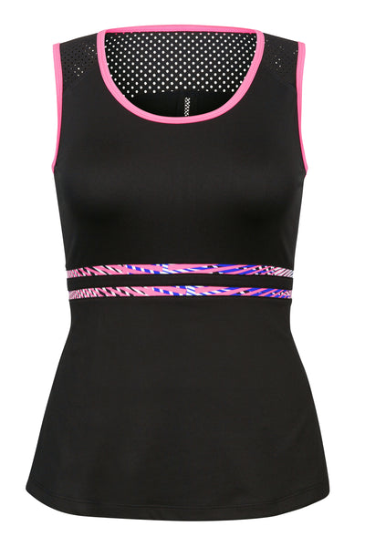 Tail Steffie tank -  black