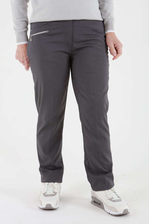 JRB Comfort Fit Trousers - Gun metal grey