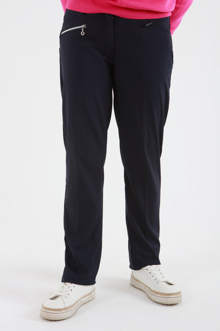 JRB Comfort Fit Trousers - Light grey