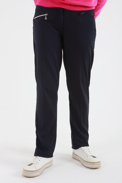 JRB Comfort Fit Trousers - Navy