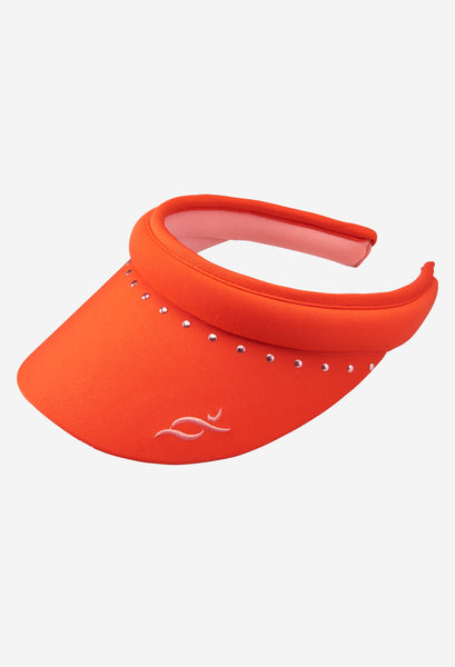 Nancy Lopez Club visor fiery red/flamingo - fully reversible