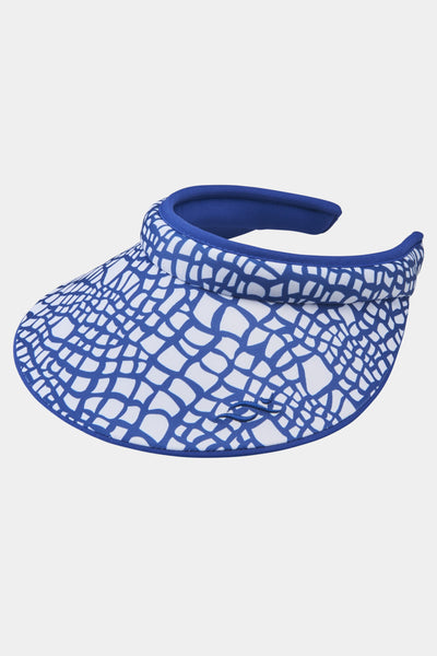 Nancy Lopez Native visor blue/multi- fully reversible large bill
