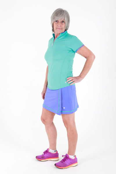 Bette & Court Enliven Skort - Periwinkle