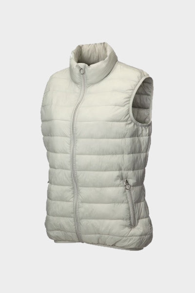 JRB Padded  Gilet - Winter White
