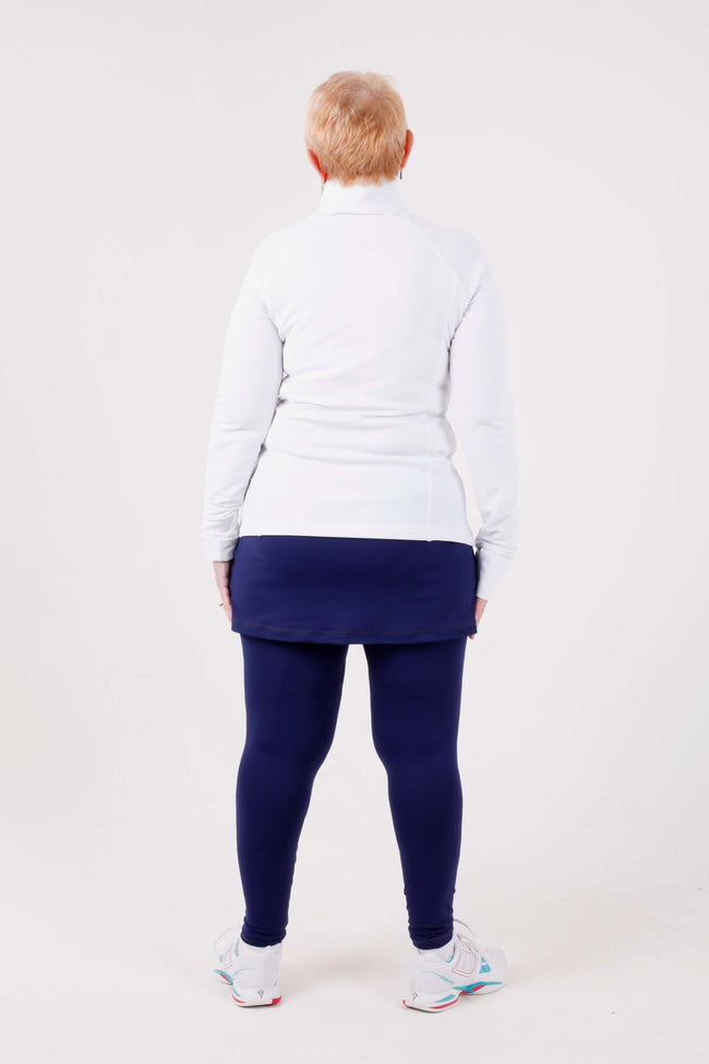 Sofibella Warmer skort leggings - navy