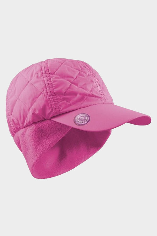 Quilted ball marker cap - pink