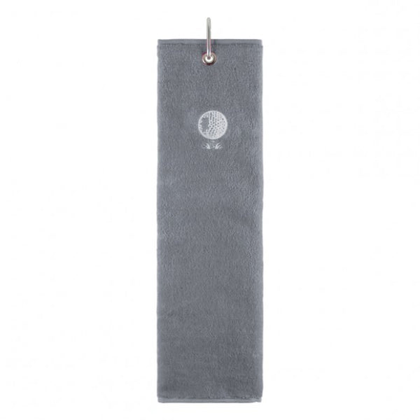 Tri-fold towel - grey