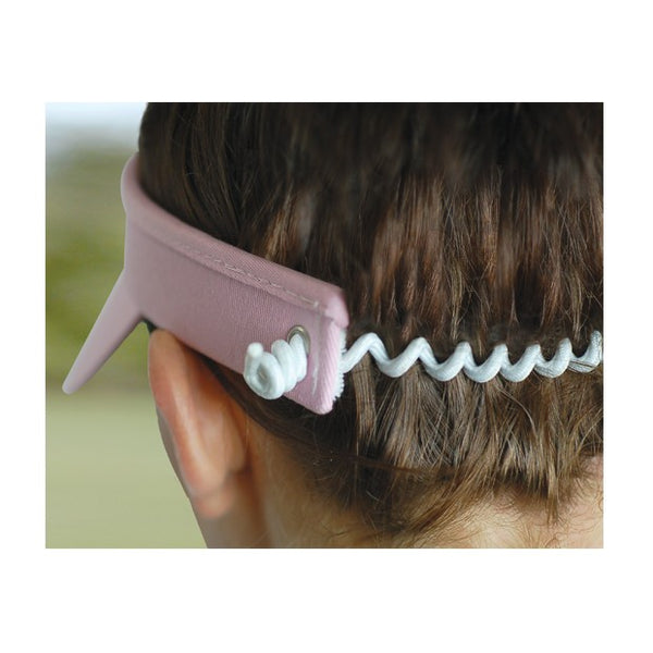 Plain wired visor - Blue
