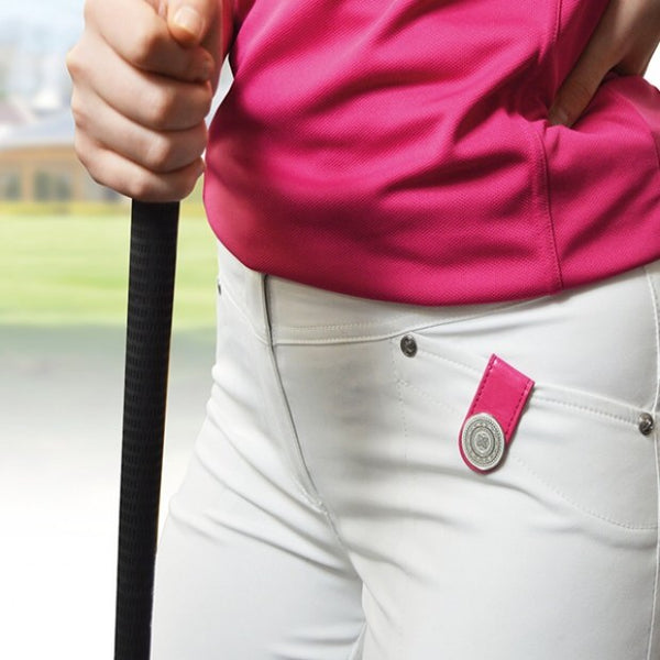 Ball marker Anywear clip - pink