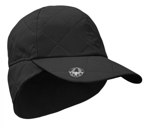 Waterproof rain cap - black
