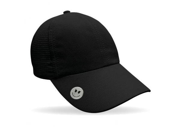 Magnetic soft fabric Golf Cap - Black