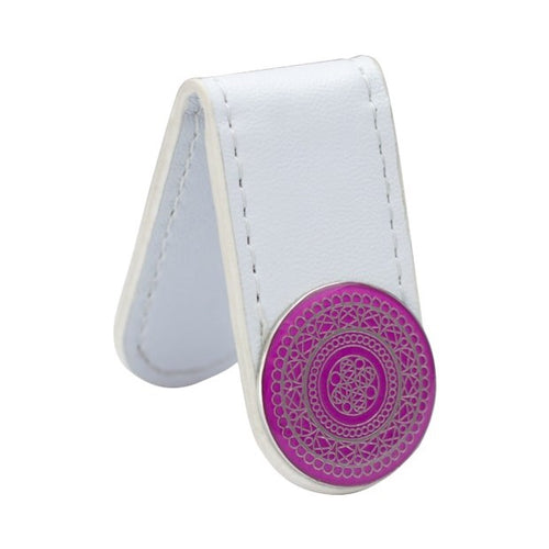 Ball marker Anywear clip - white