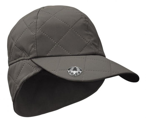 Waterproof rain cap - Charcoal grey