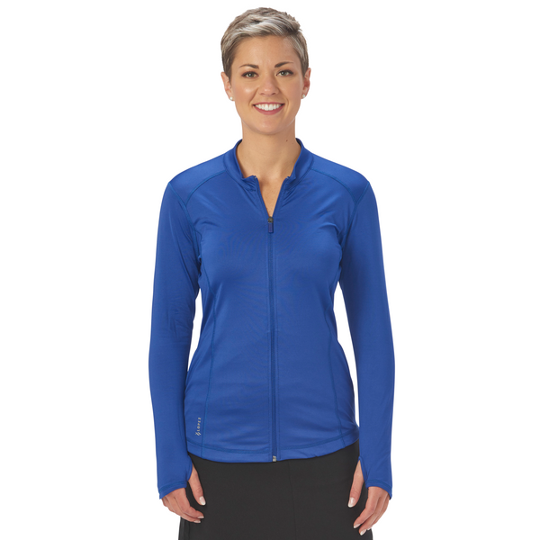 Nancy Lopez Jazzy Jacket - Twilight blue