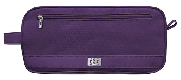 Shoe bag - Honeycomb - purple