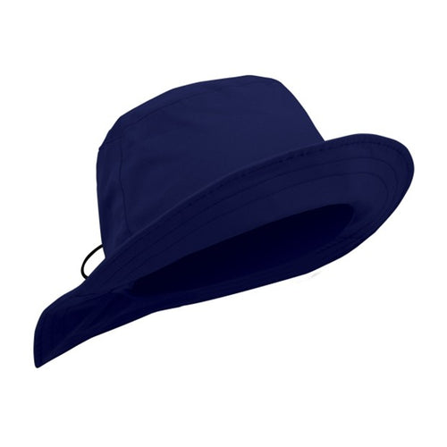 Waterproof rain hat - navy