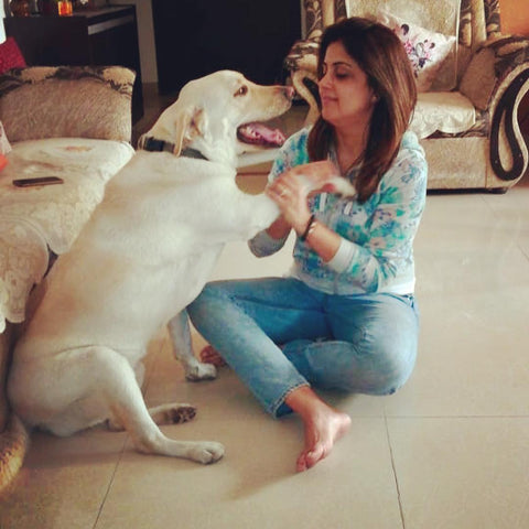 Indian canine bowen therapist - Nisha Jaggi