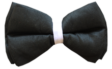 Lana Paws dog tuxedo bowtie in black and white