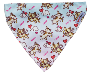 Lana Paws love dog bandana scarf