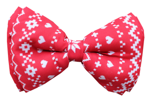 Lana Paws Christmas winter dog bow tie
