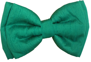 Lana Paws green festive dog bow tie