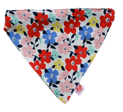 Lana Paws floral cotton dog scarf bandana