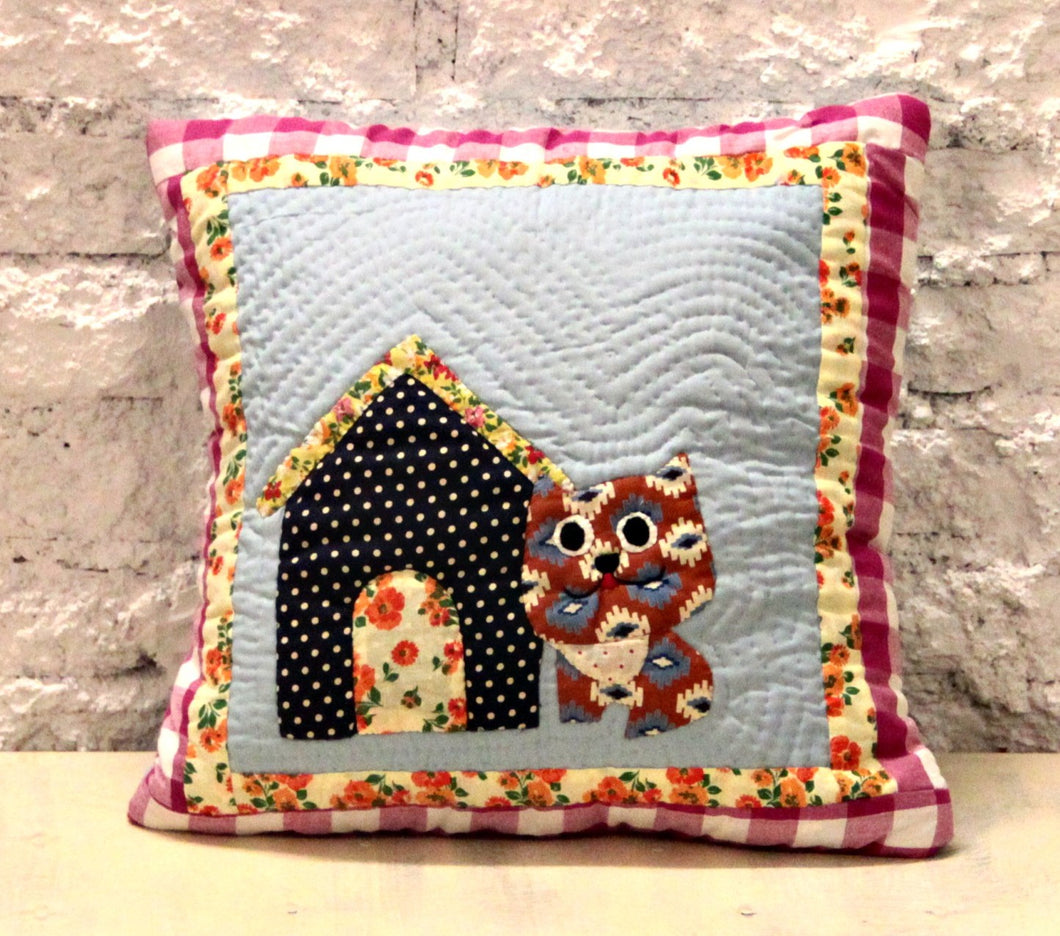 Cat & Home Handmade Cushion Cover