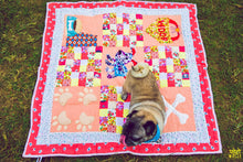 Lana Paws patchwork dog mats and dog quilts