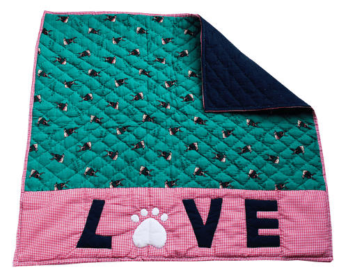 Lana Paws winter dog blanket