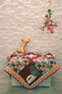 Handmade Dog/Cat Mat OR Dog/Cat Blanket in Red